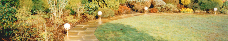 Richard Carter - Website Main Header - Garden Footpath Example